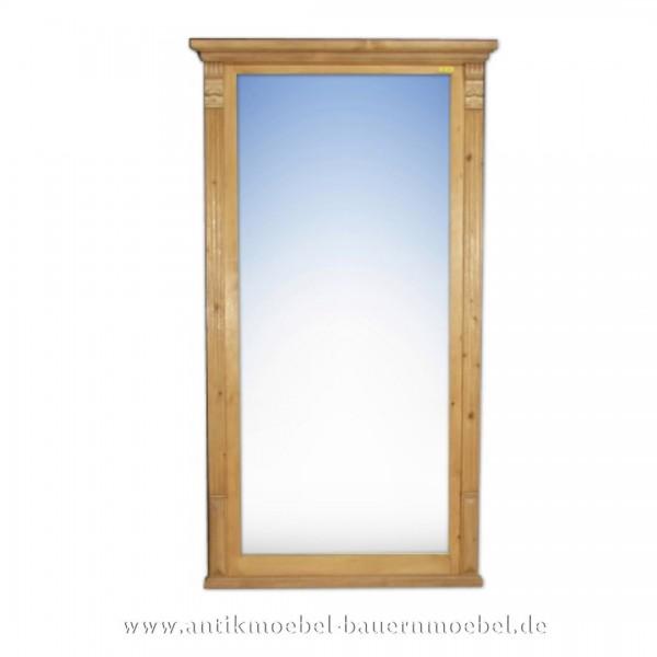 Spiegel Wandspiegel Flurspiegel groß Massivholz Landhausstil Maße 140x77 cm Artikel-Nr.: spg-07-L
