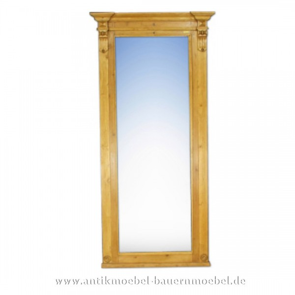 Spiegel Wandspiegel Garderobenspiegel groß Massivholz Landhausstil Maße 204x98 cm Artikel-Nr.: spg-09-L