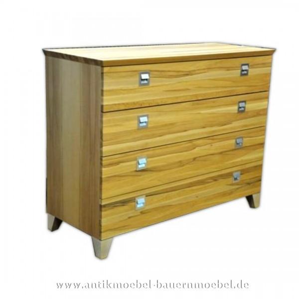 Kommode Schubladenschrank mit abgeschrägte Füße 4 Schubladen Modernes Design Artikel-Nr.: kmd-500