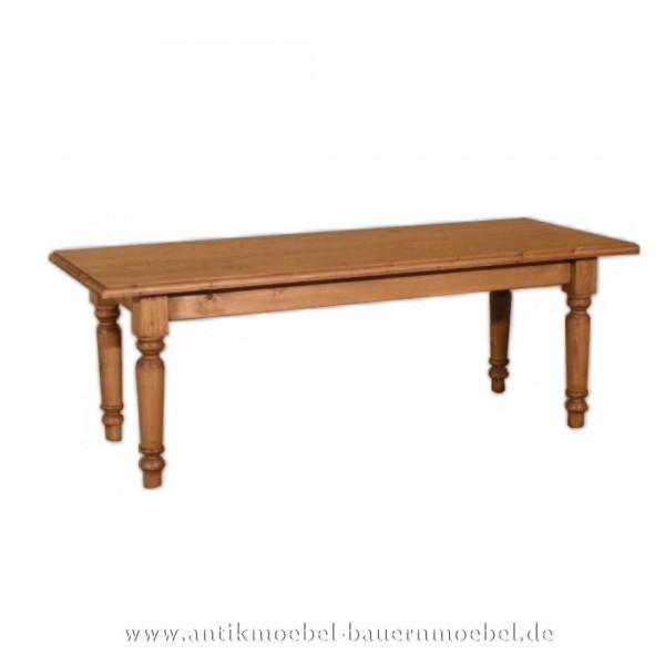Couchtisch Beistelltisch Holztisch Quadratische Massivholz Fichte Gründerzeit Landhausstil Artikel-Nr.: cut-07