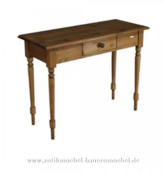 Beistelltisch Wandtisch Konsolentisch Landhausstil Massivholz Weichholz Quadratisch Artikel-Nr.: bst-12-ms