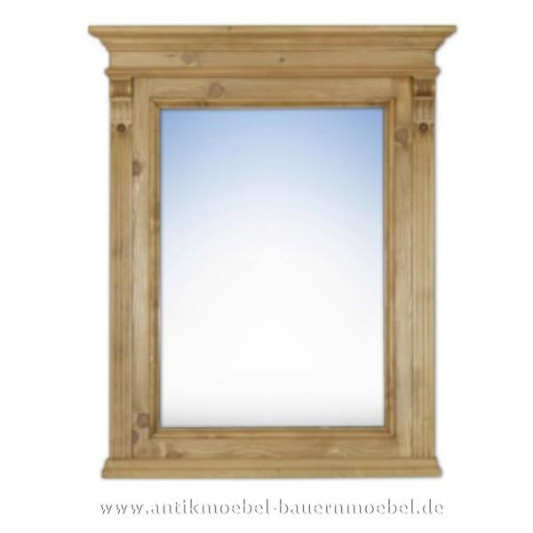 Spiegel Wandspiegel Flurspiegel Massivholz Landhausstil Maße 80x72 cm Gründerzeit Artikel-Nr.: spg-04-k