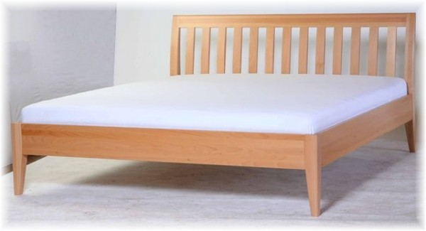 Bett Doppelbett Buche 180x200 Massivholz Modernes Desing Vollholz Maßanfertigung
