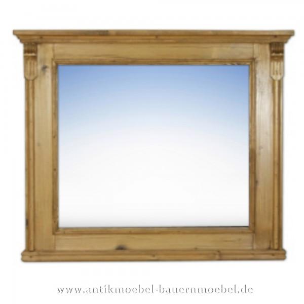 Wir sind in der Lage Ihnen den Spiegel auf Ihre individuellen Bedürfnisse anzupassen. Sie können frei wählen: mit oder ohne Facette, mit Ablage), Sonstiges Zubehör (Säulen, Schnitzerei, Holzdiamanten etc.)
