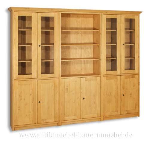 Wohnzimmerschrank Mehrzweckschrank Büromöbel Massivholz Landhausstil Vollholz