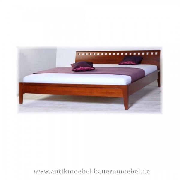 Bett Doppelbett 180x200 Modernes Design Buche Massiv Vollholz Bettgestell Maßanfertigung Artikel-Nr.: bet-405-d