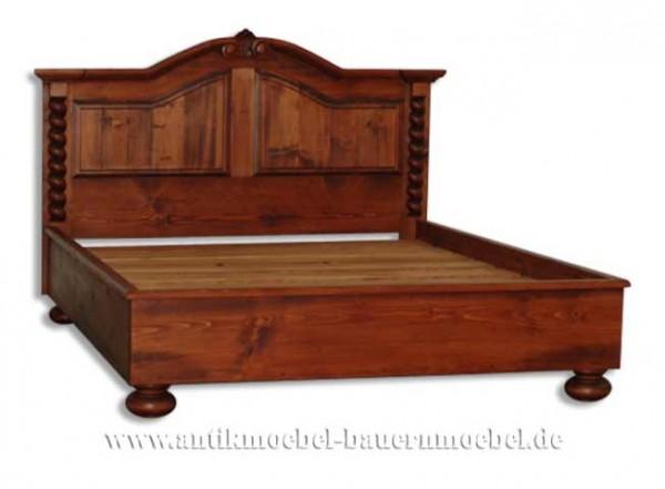 Bett Doppelbett Holzbett 180x 200 Massivholz Fichte Landhausstil