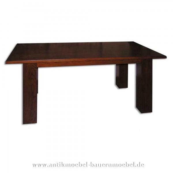 Esstisch Küchentisch Holztisch Eiche quadratisch Massivholz Hartholz Vollholz